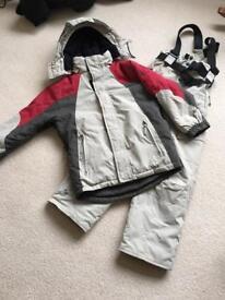 Boys Recco Ski Suit Age 9