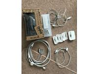 iPod cables and speakers