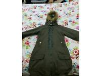 Bench coat size 12