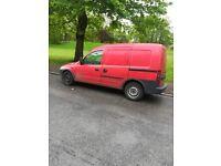Vauxhall combo van small van side door opel combo van cheap van quick sale urgent sale spears repair