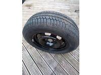 "Michelin 195/65R 15"" 91H tyre and rim (unused)"