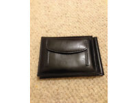 Pocket-size black mens wallet