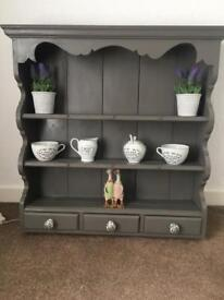 Shabby chic wall mounted cabinet