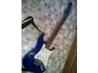 Electric guitar Squier by Fender Stagemaster