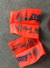 Zoggs arm bands 3-6yrs