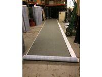 IKO Coldseal Self Adhesive Roofing Felt Top Sheet 6 m x 1 m Green Mineral Slate