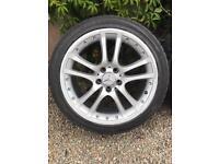 "18"" Mercedes AMG split alloys and tyres"