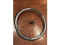 Campagnolo Khamsin Clincher Front Bike Wheel With Continental Ultra Sport Tyre