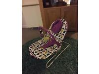 Mamas and papas bounce chair with lullaby and vibrating