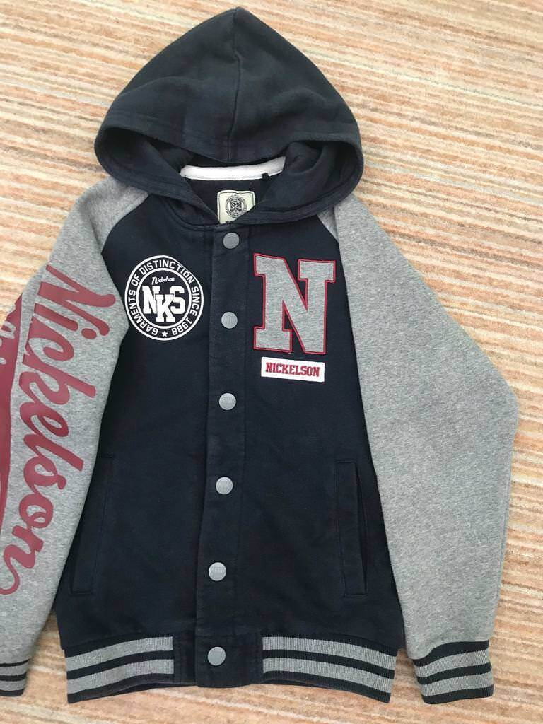 b9231d8eb Nickelson Boys button up hoodie age 10 12