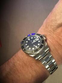 Rolex style Submariner - Black Dial