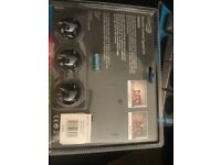 Home Easy remote control socket kit HE830S x2 backs 6 plugs total