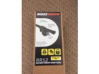 BUZZ RACK 127cm lockable car roof bars
