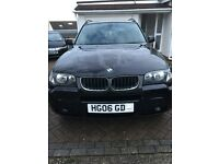 BMW X3 2.0 TURBO DIESEL 4x4 FACTORY M SPORT 6 SPEED MANUAL 5 DOOR SUV METALLIC BLACK