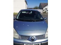 Renault Scenic 05 reg mot til mid Jan 2018, clean and tidy car for age