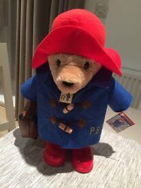 Paddington Bear stuffed toy