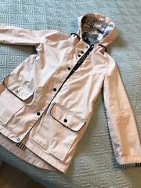 Women's top shop coat / rain parka