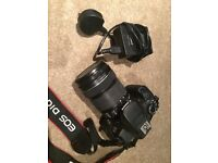 Canon EOS 650D with EF-S 18-135mm IS STM Lens Kit (Used)
