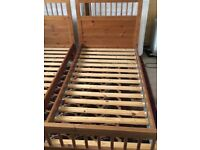 EXCELLENT CONDITION BUNK BED FRAME INCLUDES LADDER