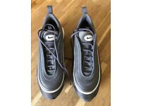 Nike Air Max 97 Dark Grey / Dark Silver Trainers, Size UK 7 / Eur 41