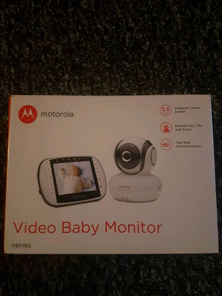 Brand new motorola video baby monitor