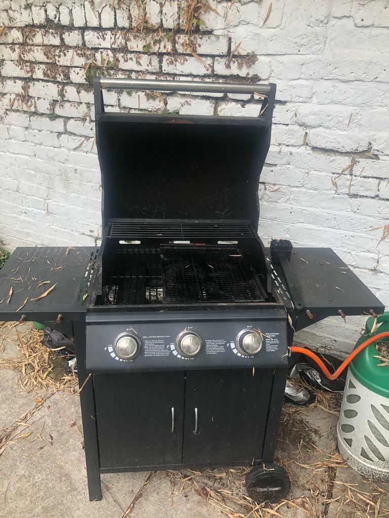 Flame Master Bbq Grill.Flame Master Gas Bbq W Full Propane Tank In Maida Vale London Gumtree