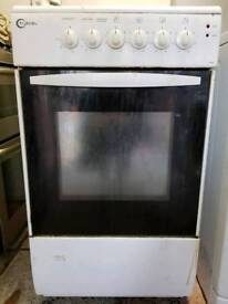 Electric freestanding cooker delivered and installed today
