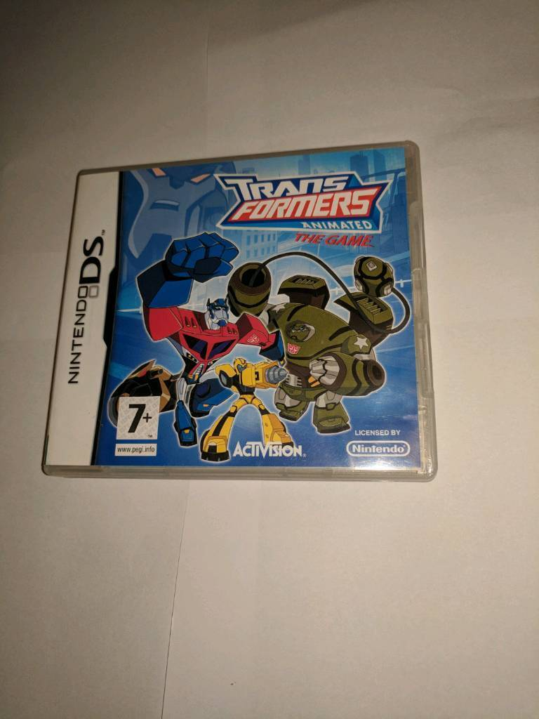 Nintendo DS Transformers Animated Game
