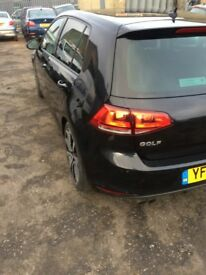 VW GOLF MK7 FULLY LOADED :LOW MILES:QUICK SALE