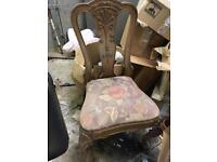 Antique Solid, Wooden Chair