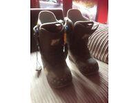 Women's Burton snow board boots