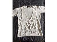 Diesel White T-Shirt Size L