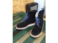 Suede black Dr.Marten boots Size 5