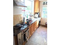 Timber kitchen for sale with hobb oven and extractor hood