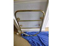 Brass Electric Heated Towel Rail Dimplex TRB130/R 90w