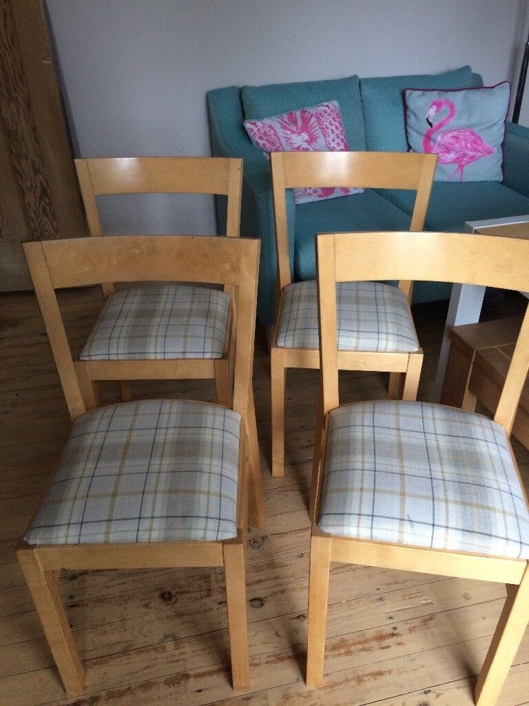 4 ikea dinning chairs suitable for upcycle