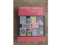 Stanley Gibbons stamp catalogue - British Commonwealth, 1977