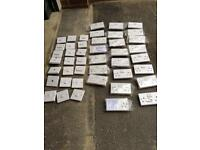 Large selection of white electrical switches & sockets