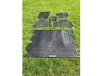 Range Rover sport rubber mats 2013 onwards
