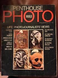 1977 Rare PENTHOUSE PHOTO WORLD .