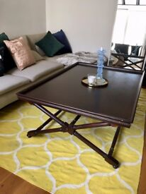 Designer Statement Large Coffee Table (Williams Sonoma, RRP. £925)