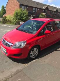 Vauxhall Safira 2013 63plate for sale