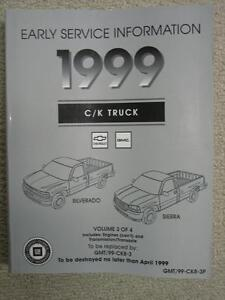 1999 Chevy Silverado/GMC Sierra Factory Repair Manual