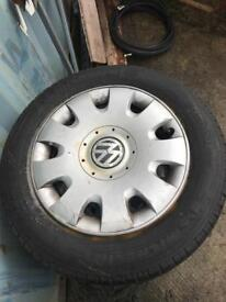 Volkswagen steel wheels (vw Golf Caddy Jetta Passat Bora)