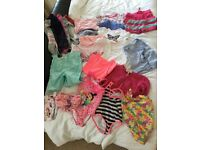2 Black bags of girls clothes (age 12'months to 3 years) and shoes approx 170 items maybe more