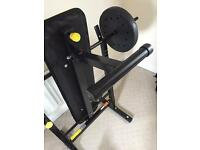 Foldable Weight Bench up to 50kg!