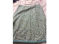 Boden skirt size 14