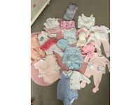Baby girl bundle up to 1 month