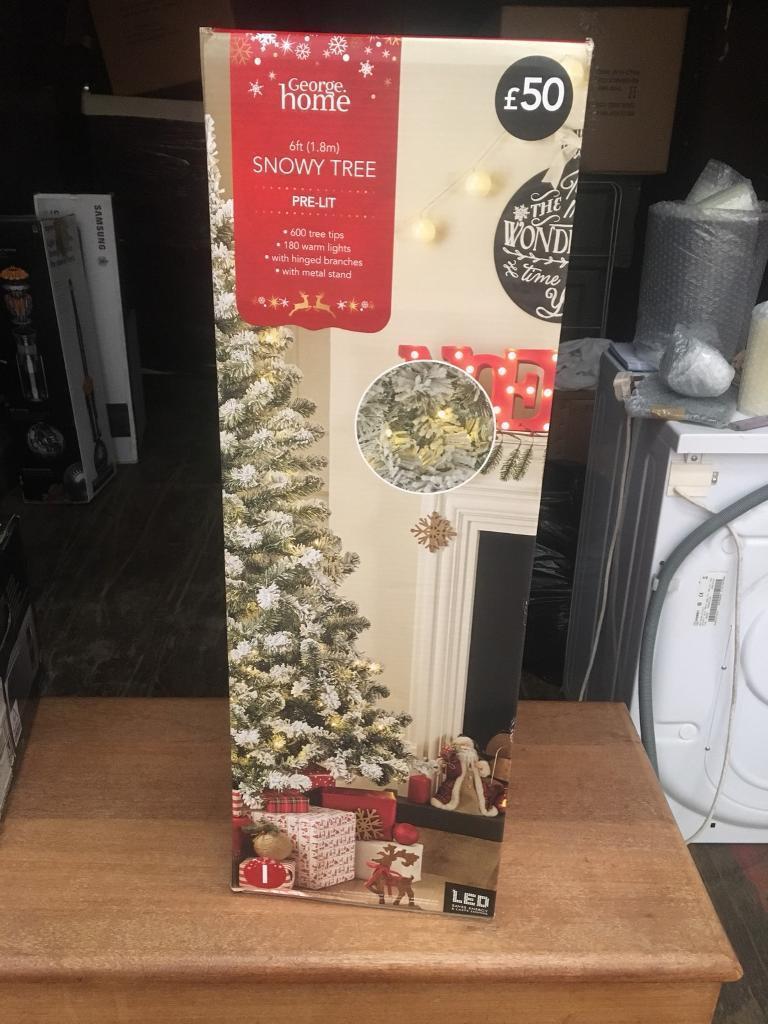 sports shoes b6cf3 e5cbd Snowy Asda Christmas tree with lights | in Beeston, Nottinghamshire |  Gumtree