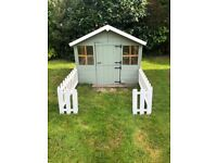 Used Wooden Wendy/Playhouse